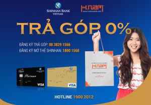 Mở thẻ với nhiều ưu đãi hấp dẫn tại Shinhanbank