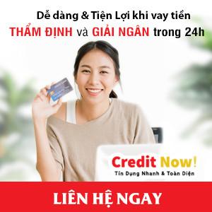 Vay thần tốc với Credit Now