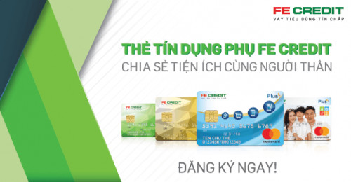 Thẻ tín dụng FE Credit sử dụng như thế nào ?