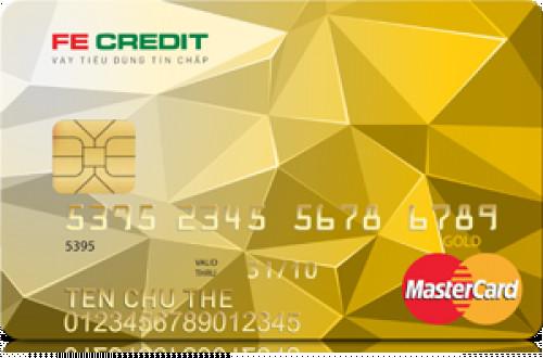 Các loại thẻ tín dụng FE Credit phát hành
