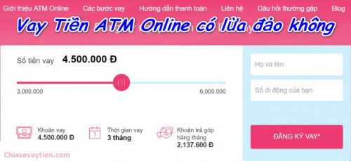[Sự thật] ATM Online lừa đảo ? Cập nhập mới nhất 2020