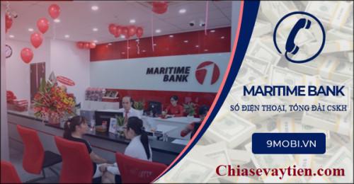 Tổng đài Maritime Bank Hỗ trợ khách hàng 24/7 - Hotline : 1 800 599 999