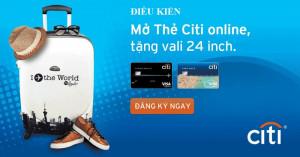 Thẻ tín dụng Citi Bank ! Điều kiện mở thẻ tín dụng Citi Bank