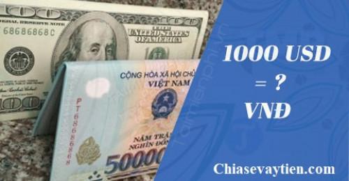 100 Đô la bằng bao nhiêu tiền Việt Nam? Cập nhập mới nhất 2021