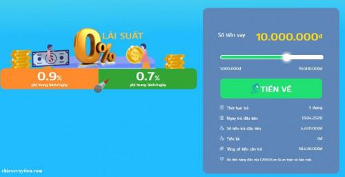 Đăng Ký Vay Tiền Online Cash24 - 0% Lãi suất - Hỗ Trợ Từ A - Z