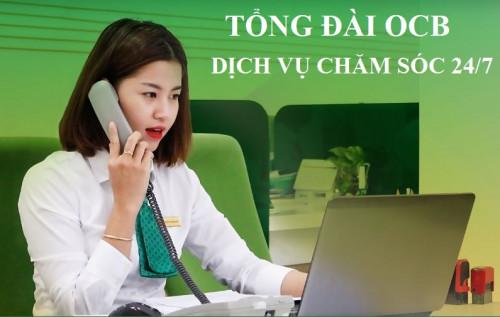 Tổng đài OCB - Hotline OCB Hỗ Trợ Khách Hàng 24/7