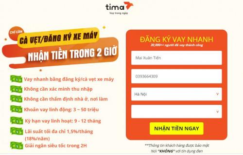 Tima Là gì ? Vay tiền Tima như thế nào