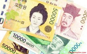 1 Won bằng bao nhiêu tiền Việt , chuyển đổi won to vnd