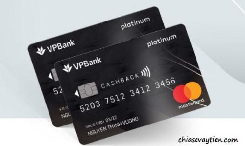 Ưu đãi hoàn tiền thẻ dụng VPBANK