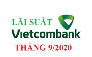 Lãi suất tiền gửi Vietcombank tháng 9/2020 mới nhất