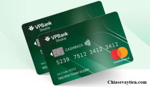 Thẻ tín dụng VPBank Stepup hoàn tiền lên đến 6% mới nhất 2021