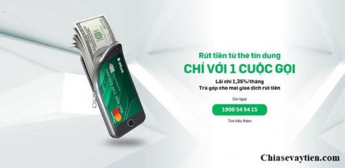 Hướng dẫn Cách rút tiền mặt thẻ tín dụng VPBank mới nhất 2021