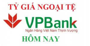 Tỷ Giá ngân hàng VPBank hôm nay