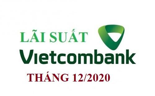 Lãi suất Vietcombank mới nhất tháng 12/2020