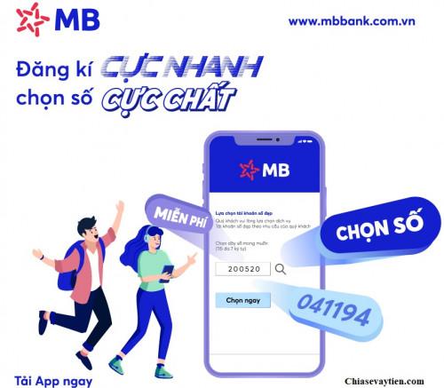 Tải App MB Bank , mở ngay tài khoản MB Bank Online