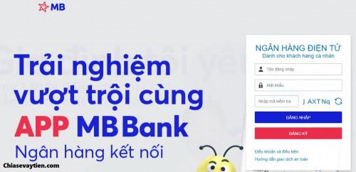 Hướng dẫn đăng ký, đăng nhập Internet Banking MB Bank mới nhất 2021