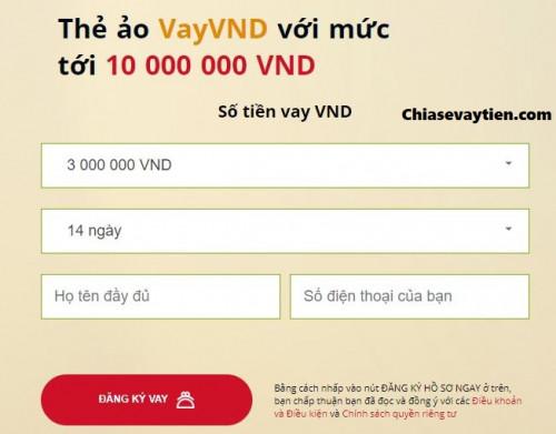 Hướng dẫn vay tiền Online VAYVND nhận ngay 4 triệu mới nhất 2021