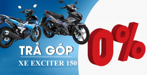 Mua xe Yamaha Exciter 150 Trả góp  như thế nào