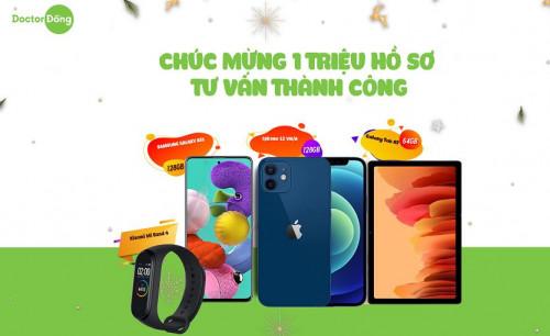 Trúng IPHONE 12 khi đăng ký vay tiền Doctor Đồng