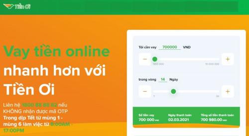Tienoi.com.vn - Web tiền ơi vay tiền nhanh 10 triệu giải ngân trong ngày