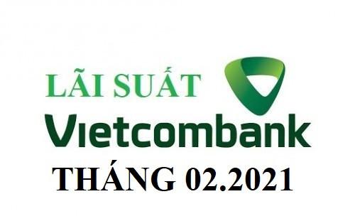 Lãi suất ngân hàng Vietcombank mới nhất tháng 02/2021
