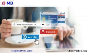 Hướng dẫn vay tiền Online MB Bank mới nhất 2021