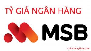 Tỷ Giá Maritime Bank (MSB) hôm nay
