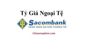 Tỷ giá ngoại tệ Ngân hàng Sacombank