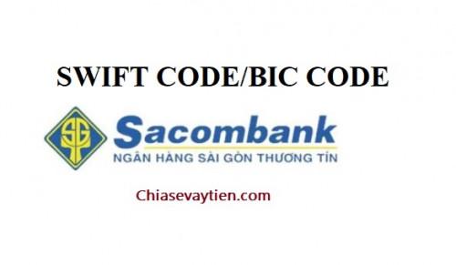 Sacombank Swift code mới nhất 2021