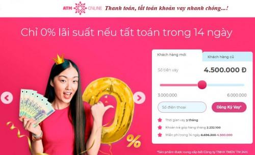 Cách Tra Cứu, Thanh Toán, Tất Toán khoản vay ATM Online nhanh chóng 2021