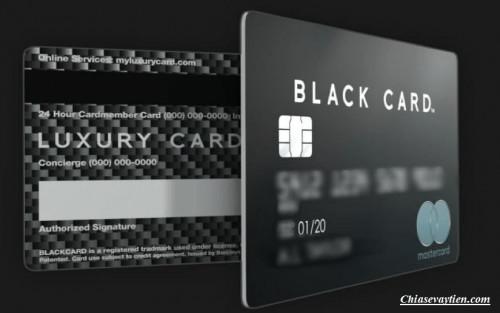 Thẻ đen là gì ? Thẻ tín dụng đen mang tới đặc quyền gì mới nhất 2021