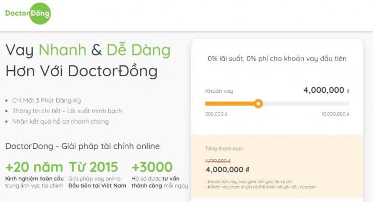 Vay tiền Online Doctor đồng