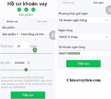 Đăng ký vay tiền Online Tiền Ơi