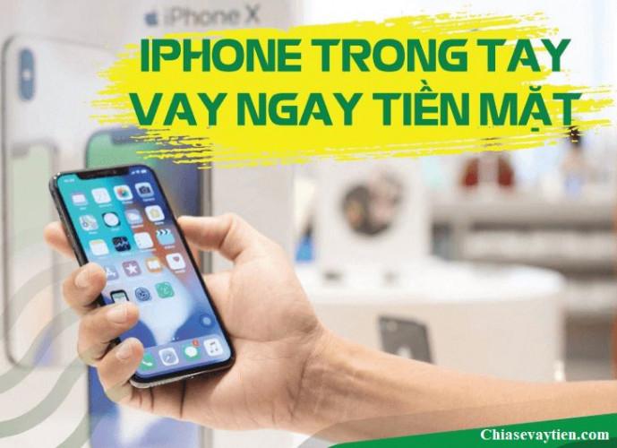 Vay tiền nhanh Online bằng iPhone