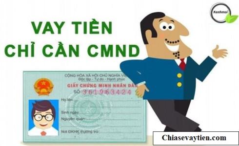 Vay tiền Online chỉ cần CMND