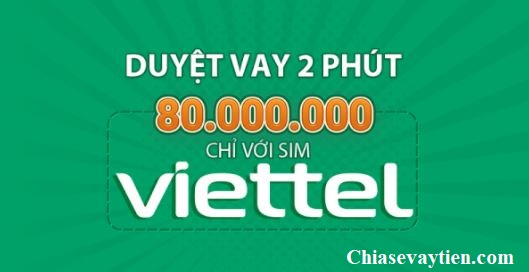Vay tiền mặt bằng SIM Viettel tại ứng dụng AVAY