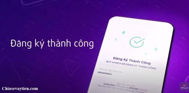 Mở tài khoản TPBank Online qua app