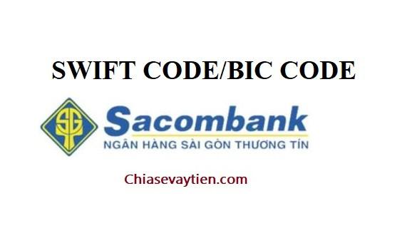 SWIFT Code ngân hàng Sacombank