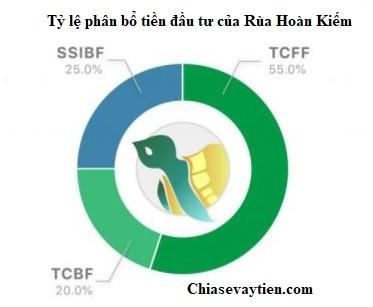 Phân bổ tỷ lệ đầu tư của Rùa Hoàn Kiếm