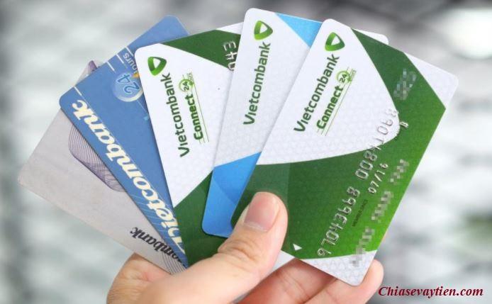 Phí rút tiền tại cây ATM thẻ ghi nợ Vietcombank