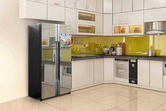 Tủ lạnh có thể sử dụng để trang trí nhà bếp