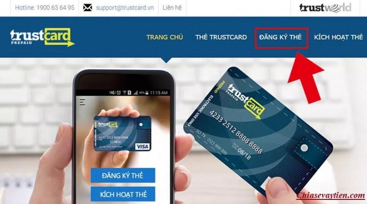 Đăng ký làm thẻ Visa ảo
