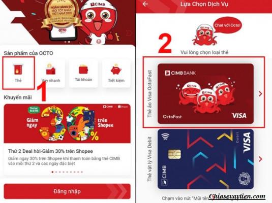 Đăng ký mở thẻ Visa ảo miễn phí