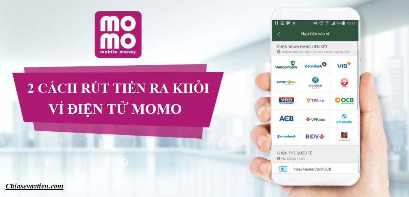 Rút tiền khỏi ví điện tử MOMO