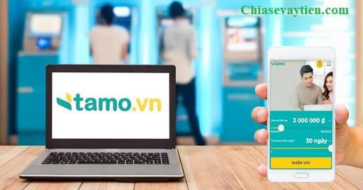 Đăng ký vay tiền nhanh Online với Tamo.vn