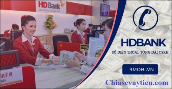 Số tổng đài ngân hàng HD BANK