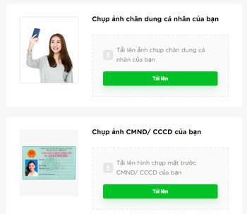 Cập nhập ảnh CMND/Thẻ căn cước vay tiền Cashwagon