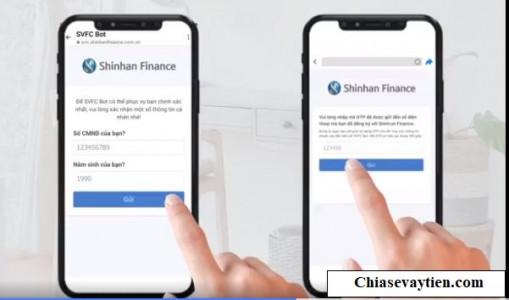 Tra cứu khoản vay Shinhan Finance SVFC Bot