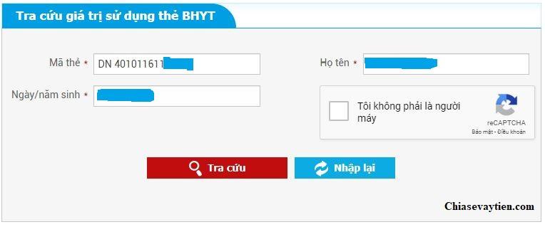 Tra cứu hạn bảo hiểm y tế qua Online