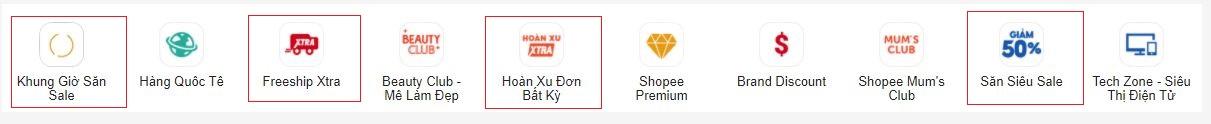 Săn mã giảm giá Shopee